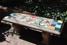 Turn Ordinary Outdoor Furniture & Accessories Into Mosaic Masterpieces