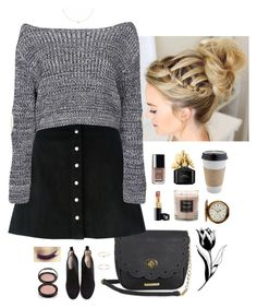 """""""Untitled #3911"""" by somethinglikelove ❤ liked on Polyvore featuring Ganni, Rampage, T By Alexander Wang, Boohoo, Agnes de Verneuil, Satomi Kawakita, Gabriela Artigas, Chanel, Anastasia Beverly Hills and Marc Jacobs"""