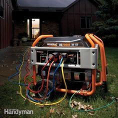 Follow this expert advice on how to buy, operate and maintain a gas powered electrical generator so that it's safe and ready to go when the power goes out.