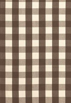 Camden Cotton Check Schumacher Fabric