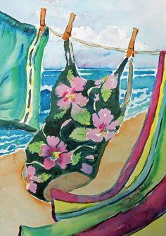 Summer Breeze - Watercolor