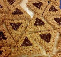Rice Crispie Treat Hamantaschen - Kosher Recipes & Cooking