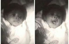 Michael Jackson as a infant