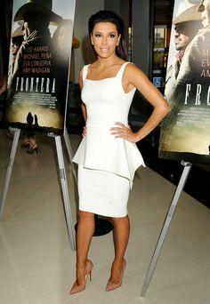 Eva Longoria. http://www.celebritiesinhighheels.com #EvaLongoria