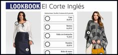 Lookbook: Visitamos las tiendas en línea, escogemos unos looks y calculamos cuánto cuestan. En esta edición, El Corte Inglés.