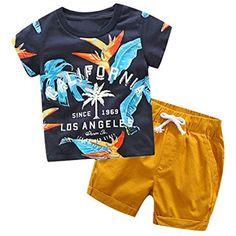 8682194b797e9a VICGREY T-Shirt da Ragazzo Vestiti Bambino Maschio 2-7 Anni Vestiti Ragazzi  Pantaloni