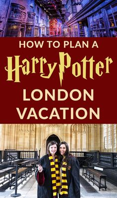 How to plan the perfect Harry Potter London Vacation! If you're going to London and want to see all the Harry Potter sites, this is a must read! #harrypotter #harry #potter #london