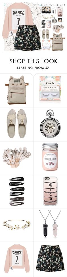 """""""A Walk through the Neighborhood"""" by ellie-tinker ❤ liked on Polyvore featuring Pusheen, Topshop, Dr. Martens, Akribos XXIV, Clips, Casetify, Cult Gaia, Bling Jewelry, Studio Concrete and Miss Selfridge"""