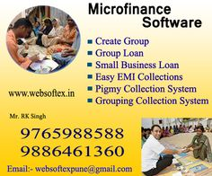 Microfinance Software's innovative design is flexible, user friendly and features a very high level automation. This gives the MIPS the flexibility and capability to deliver excellent customer service and operate very efficiently with a minimum number of staff. 1. Create Group 2. Group Loan 3. Small Business Loan 4. Easy EMI Collections 5. Pigmy Collection System 6. Grouping Collection System
