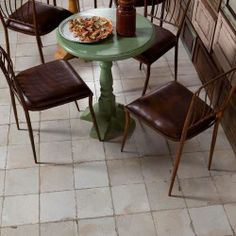 Merola Tile Kings Manhattan in. Ceramic Floor and Wall Tile sq. / - The Home Depot for the kitchen floor? Terrazo, Online Tile Store, Tiles Texture, Style Retro, Commercial Kitchen, White Tiles, Art Deco, Kitchen Flooring, Wall Tiles