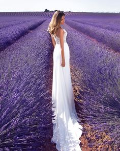 Find your own lavender dream amount the variety of #millanova dresses ——————————— #weddingdress #millanovabride #brides #wedding #bridalgown