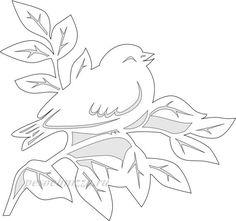Весняні витинанки: добірка якісних шаблонів | Ідеї декору Diy Crafts To Do, Bird Crafts, Paper Crafts, Kirigami, Origami Paper Art, Spring Birds, Quilling Craft, Scroll Saw Patterns, Paper Stars