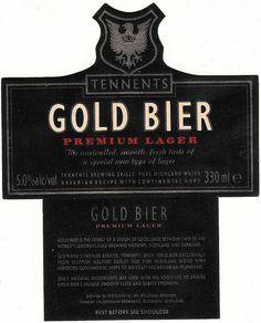 Tennent's Bottle Beer Label 70