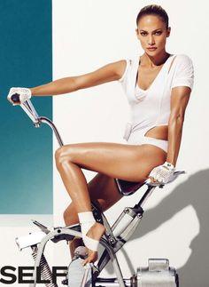 Jennifer Lopez Self Magazine Jan 2015