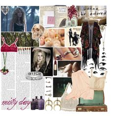 """misty day - ahs: coven"" by ravnflaws on Polyvore"