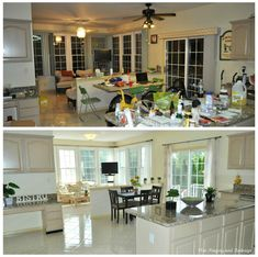 Expert Approved ✅ Get dirt cheap home staging tips you can't miss. Implement professional home staging secrets, so you can sell your home FAST! Best Kitchen Colors, Kitchen Paint Colors, Home Staging Cost, Kitchen Staging, Dirt Cheap, Sell Your House Fast, Home Lighting, Wall Colors, Pisa