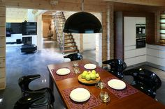 dining space in kitchen