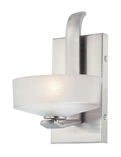 View the Minka Lavery 4221 1 Light Bathroom Sconce from the Eclanté Collection at LightingDirect.com.