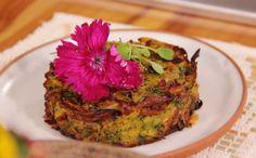 Prato tem acompanhamento de maionese à base de abacate, beterraba e batata-doce