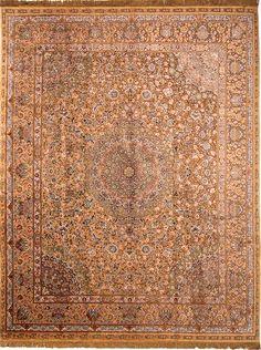Soof Design Persian Rug  100% silk