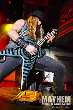 Zakk Wylde at The Regency Ballroom in San Francisco, Ca. - Photography by Dwayne Cavanas for Mayhem Music Magazine