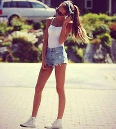 #fashion #style #beauty #shoes #heels #girl #top #girl #pants #jeans #converse #allstars #shorts #summer