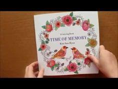 Time of Memory by Kim Sun Hyun Colouring Book Flip Through - YouTube