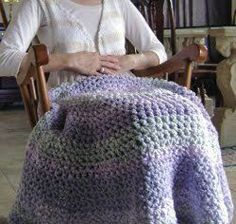 Circle Lapghan #free #crochet #pattern <3 ceruleana <3