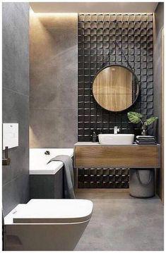 Bathroom Decor Sets, Bathroom Tile Designs, Bathroom Design Small, Bathroom Styling, Bathroom Interior Design, Bathroom Ideas, Bathroom Organization, Bathroom Storage, Toilet Tiles Design
