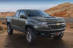 Chevrolet is reintroducing its off-road-ready ZR2 badge with a new Colorado-based concept at the 2014 LA Auto Show.