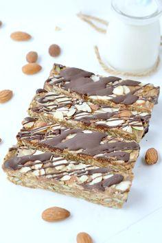 Low Carb Granola bars – Sugar free + No Bake