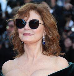 Susan Sarandon en bijoux Chopard