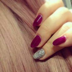 #purple nails