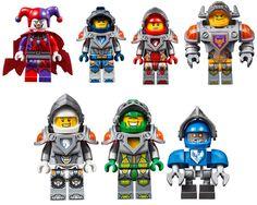 Lego Nexo Knight Minifigures Images