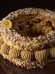 Paris Brest Recipe by pastry chef Pierre Hermé Eclairs, Profiteroles, French Bakery, French Pastries, French Desserts, Classic Desserts, Pastry Recipes, Dessert Recipes, Cooking Recipes