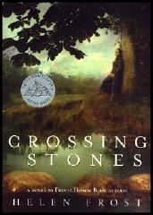 #awbchallenge Crossing Stones by Helen Frost: A Suffragette's Sparkling Pathways to Self