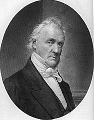 15th American President James Buchanan