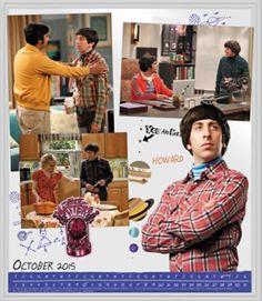 Howard Joel Wolowitz M.Eng. (Simon Helberg) - The Big Bang Theory (2007-Present)