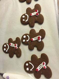 Sexy gingerbread cookies