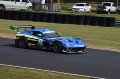N° 80 Lone Star Racing Dodge Viper GT3-R managed a ninth place finish on the slick blacktop of Virginia International Raceway US in the 2016 IMSA Michelin GT Challenge.