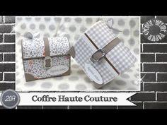 """Vidéo-Tuto """"Coffre Haute Couture"""" par Coul'Heure Papier - YouTube"""