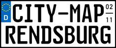 city-map Rendsburg