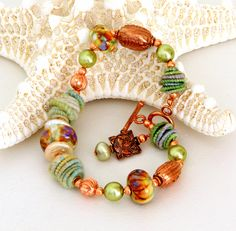 Lampwork Beaded Jewelry...love lampwork glass beads, they are so pretty...