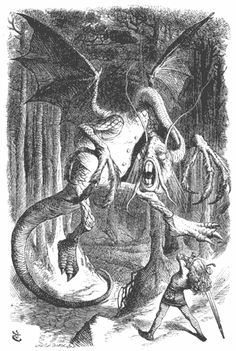 """analysis of jabberwocky Jabberwocky by lewis carroll 'twas brillig, and the slithy toves did gyre and gimble in the wabe: all mimsy were the borogoves, and the mome raths outgrabe """"beware the jabberwock, my son the jaws that bite, the claws that catch beware the jubjub bird, and shun the frumious bandersnatch."""