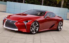 Lexus LF LC Hybrid Sport Coupe Concept