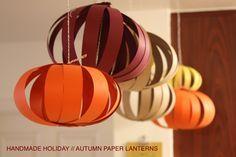 Autumn Paper Lanterns