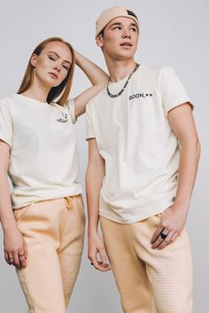 Martinus is wearing a size Large and Ella is wearing a Medium. Size Body length (A) chest (B) years 51 cm 38 cm years 61 cm 42 cm S 66 cm 46 cm M 70 cm 50 cm L 74 cm 54 cm XL 78 cm 58 cm Off White Tees, Thing 1, Guinness, Southern Prep, Bae, My Love, Cotton, How To Wear, Collection