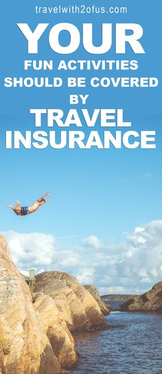 """You should get travel insurance."" I am sure you have heard this at least five times. I am also sure you have ignored them all five times as well. Well you're not alone because many people continuously ignore it.   Long before Travelwith2ofus was started I ..."
