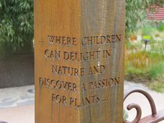 got to start them young…, – natural playground ideas Outdoor Classroom, Outdoor School, Forest Classroom, Garden Club, Garden Art, Garden Works, Outdoor Play Spaces, Sensory Garden, Royal Garden