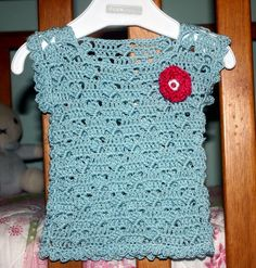 Baby Girls Crochet Top 000 - by kylieB